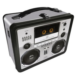 Gen 2 Fun Tin Case 48191 Lunch Box Retro TV