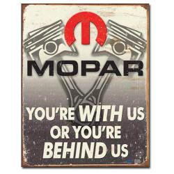 """st Mopar Round Metal Sign 12/"""""""