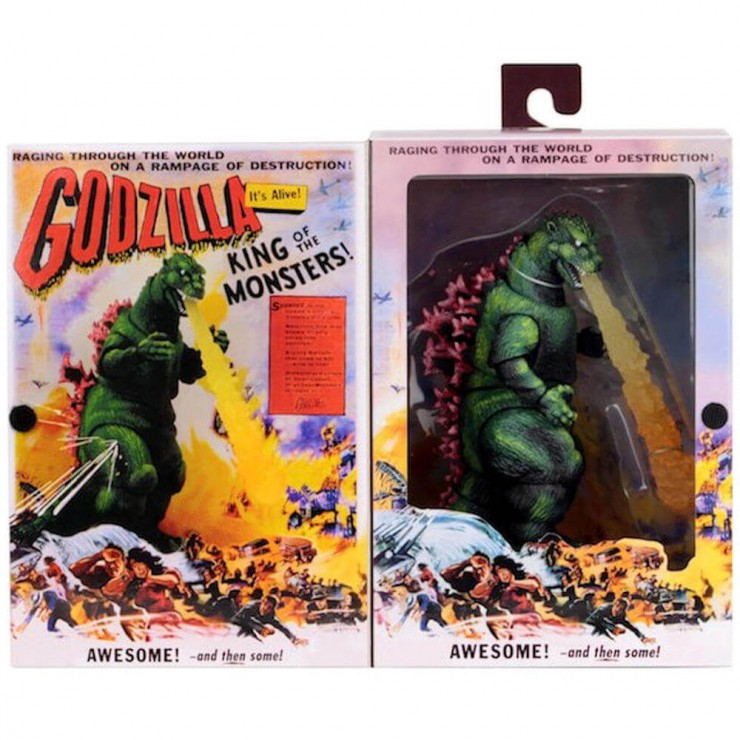 1956 Movie Poster Version 12″ Head-To-Tail Figure by NECA Godzilla