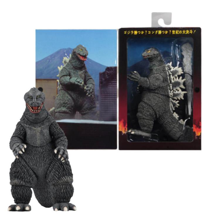 NECA Godzilla 1962 Godzilla Action Figure King Kong Vs. Godzilla
