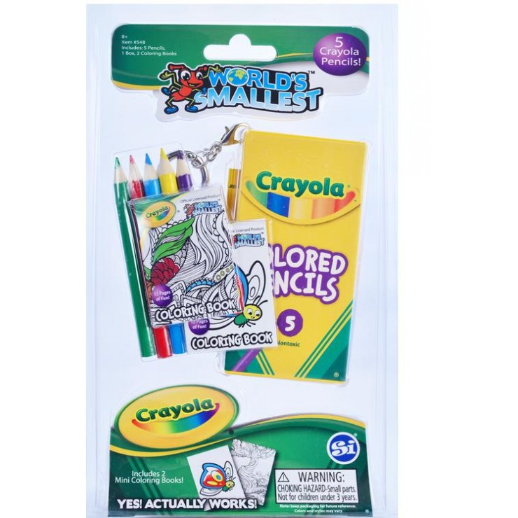 World\'s Smallest Crayola Coloring Set